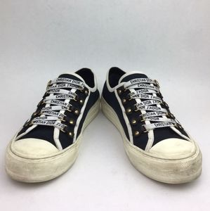 Dior WALK'N'DIOR IN CANVAS sneakers sz 10